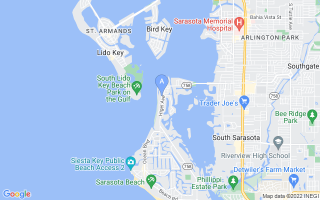 3975 Shell Rd Sarasota Florida 34242 locatior map